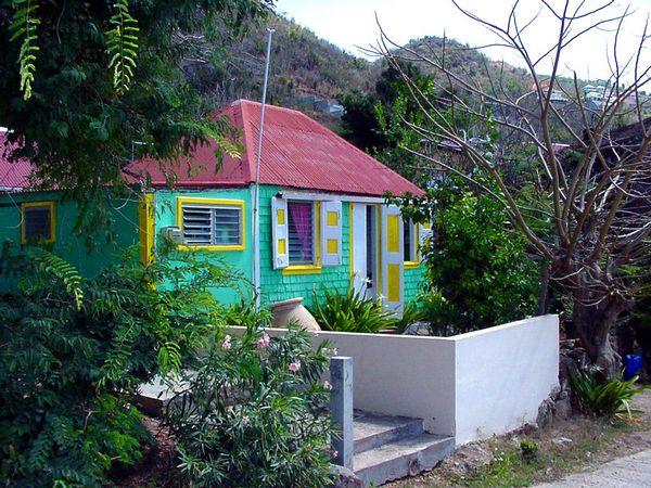 Guadeloupe photos paysages saint barth maison - Maison en bois guadeloupe ...